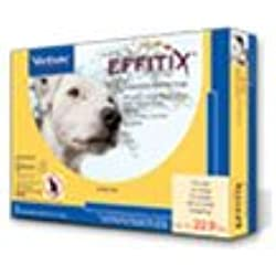 EFFITIX Topical Solution For Dogs Up To 22.9 lbs, 6 Month Supply
