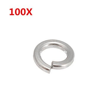 Split Lock Washer Stainless Marine Bolt Supply Spring Medium - 1PCs