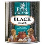Eden Foods Organic Black Bean, 108 Ounce -- 6 per case. by Eden