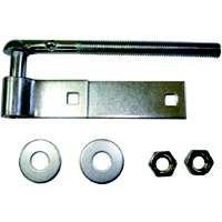 MINTCRAFT LR082 Zinc Bolt Hook/Strap Hinge, 18-Inch