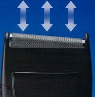 Panasonic Single Blade Travel Shaver, Wet/dry Feature, Battery Operated, Black, Great for Travel