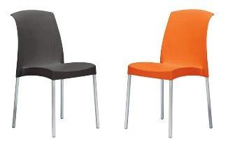 Idea Sillas Bar 6, sillas de Polipropileno, con Patas de ...