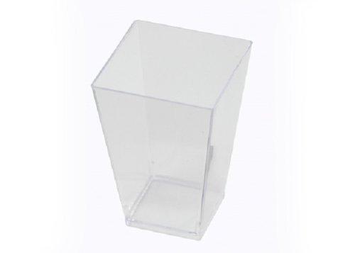 Petites APTSQSHOT35 Square Tasting Glass, 3.5-Ounce Capacity, Clear (Case of 320)