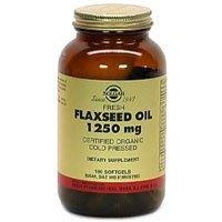 Solgar - Huile de lin, 1250 mg, 250 gélules