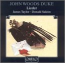Image of John Woods Duke: Lieder