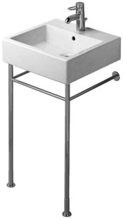 Duravit 0030651000 Metal Console for Console Sinks, (Metal Pedestal Sink)