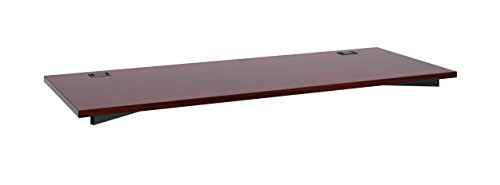 "HON Manage Worksurface , Rectangle , 60""W x 23-1/2""D , Chestnut Finish"