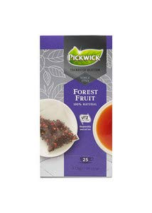 - Pickwick tea master selection forest fruit utz 1.5 gram | 3x | Totaal weight 112.5 gr