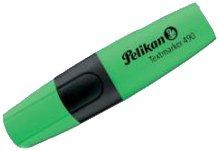 Pelikan Textmarker 490 Evidenziatore, Colore Verde, Confezione da 10 0F4PN1