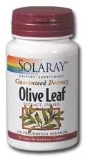 (Solaray - Olive Leaf Extract, 250 mg, 60)