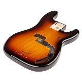 Fender Alder Precision Bass - Brown - Bolt Front Fender
