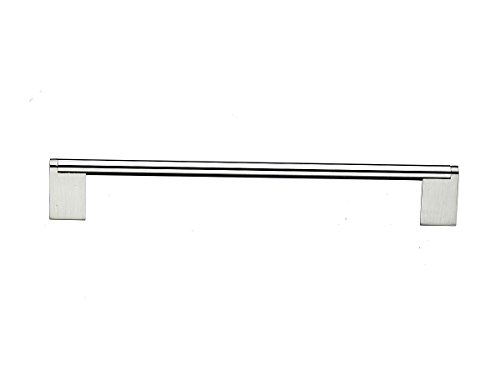 Top Knobs M1046 Bar Pulls Collection 15 Inch Princetonian Bar Pull, Brushed Satin Nickel ()