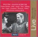 Puccini: Gianni Schicchi / Fischer-Dieskau · Mödl · Ahnsjö · Thaw · Fahberg · Auer · Engen · Grumbach · Wewezow · Schary · Sawallisch