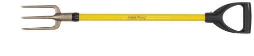 Ampco Safety Tools F-1FG Fork Guncotton, Non-Sparking, Non-Magnetic, Corrosion Resistant, 4'' x 36'' OAL