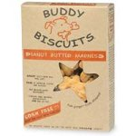 Butter Madness Peanut Buddy (Cloud Star Buddy Biscuits for Dogs, Peanut Butter Madness (16 Ounces))