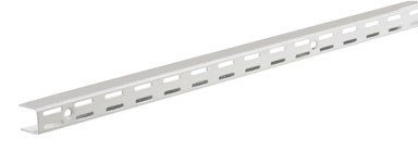 Rubbermaid Fast Track Adjustable Closet System Hardware, Upright, 25-Inch, White