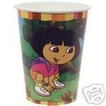 (DORA PARTY CUPS 9 OZ PKG OF 8 by Hallmark )