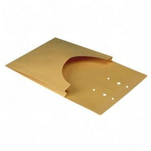 Quality Park Classification Pockets with One Inch Expansion, 6 Point Kraft, Brown, 100/Box