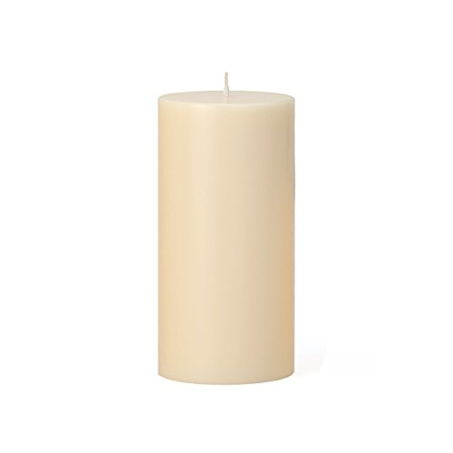 Torre & Tagus 901759B Prime Palm Wax Pillar Candle 3 by 6 inch - Ivory