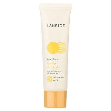 Laneige Sun Block Sensitive Spf 30 Pa++ (For All Skin Types) 50Ml/1.7Oz