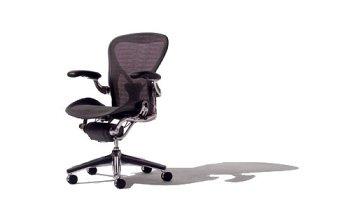 Herman-Miller-Classic-Aeron-Task-Chair-Highly-Adj-wPostureFit-Support-Tilit-Limiter-wSeat-Angle-Adj-Fully-Adj-Vinyl-Arms-Carpet-Casters