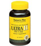 Natures Plus Ultra II – 60 Vegetarian Tablets, Sustained Release – Complete Adult Whole Food Multivitamin & Mineral Supplement, Supports Energy Production, Well Being – 60 Servings