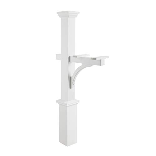 Good Directions 999204 Mailbox Post, One Size White