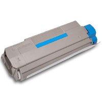 Okidata C6100dn/dtn/hdn Compatible Cyan Laser Toner Cartridge (43324419 Laser)