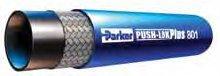 Parker 801-8-BLU-RL Push-Lok Multipurpose Hose 1/2 ID ()