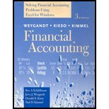 Financial Accounting : Solving Financial Accounting Problems Using Excel for Windows, Weygandt, Jerry J. and Kieso, Donald E., 0471372641