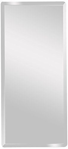 Spancraft Glass Rectangle Beveled Mirror, 18