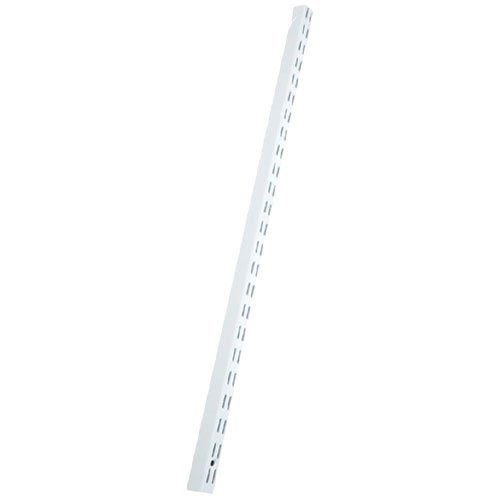 K&A Company freedomRail Hanging Rail Upright - White, 1'' x 90'' x 1'' x 19 lbs, 90 Inch