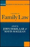 A Reader on Family Law, , 0198763638