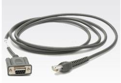 Zebra RS232Cable 2.1m Rs232Grey-Serial Cable