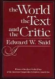 The World, the Text, and the Critic