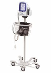 Lxi Spot Vital Signs (Welch Allyn Mobile Stand with Basket for Spot Vital Signs LXi)
