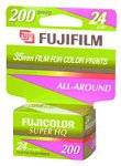 Fujifilm 200 Speed 35mm Color Print Film (24 Exposures) by FUJIFILM