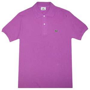 Lacoste L1212 Camiseta Polo, Morado L (Talla del Fabricante: 5 ...