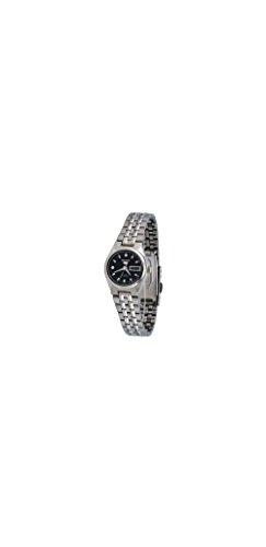 Black Self Winding Bracelet (Women Seiko SYMK43 Seiko 5 Seiko 5 Stainless Steel Case and Bracelet Black DIal)