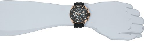 Rose Automatic 16k - Stuhrling Prestige Men's 322A.33461 Prestige Swiss Made Automatic Valjoux 7750 Maverick Chronograph Multifunction Rose Tone Watch