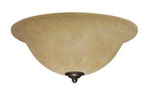 Emerson Ceiling Fans LK71ORB Amber Parchment Light Fixture for Ceiling Fans, Medium Base CFL