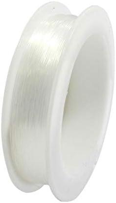 ideal zur Schmuckgestaltung 0,3 mm x 50 m Pracht Creatives Hobby 2998-30021 Perlonfaden transparent Tragkraft 2,8 kg auf einer Spule f/ür Mobiles und zur Dekoration