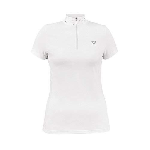 (Aubrion Shires Emerald Show Shirt M White)