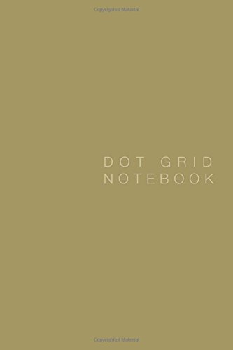 Download DOT Grid Notebook: Zenith Gold Cover, 125 pages, 6 x 9 ebook