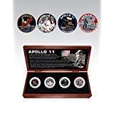 The Matthew Mint Apollo 11 Four JFK Half Dollar Set