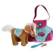 Pucci Pups® Hearts & Stripes Pony Bag Perfect for the Horse Fun and Play ()