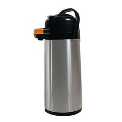 (Koffee by the Kup Airpots 2.2L Stainless Finish Push Button 120817)