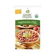 Simply Organic Vegitarian Chili, OG 1 oz. (Pack of 12)