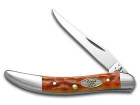 Case Small Whiskey Texas Toothpick Pocket Knife