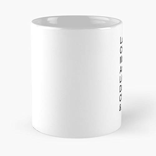 (Lucifer Morningstar Tv Show Series - Funny Gifts For Men And Women Gift Coffee Mug Tea Cup White 11 Oz.the Best)